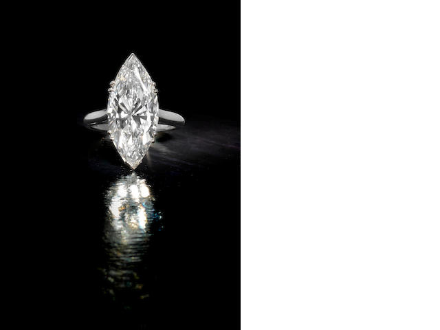 A diamond single-stone ring, by Piaget