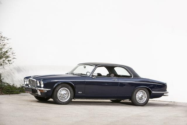 Original left hand drive,1976 Jaguar XJ12 Series II Coupé Chassis no. 2G50398BW Engine no. 7P257235SA