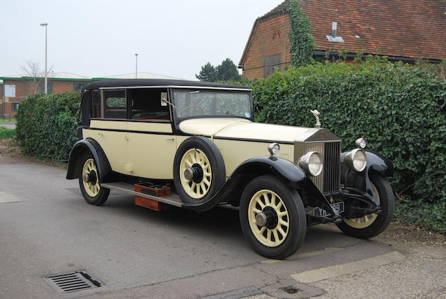 1926 Rolls-Royce  Phantom I Landaulet de Ville  Chassis no. 51 DC Engine no. NS 35