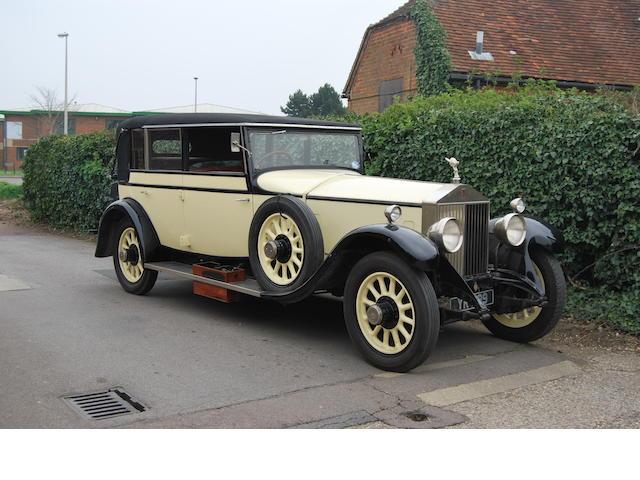 1926 Rolls-Royce  Phantom I Landaulet de Ville  Chassis no. 51 DC Engine no. NS 35
