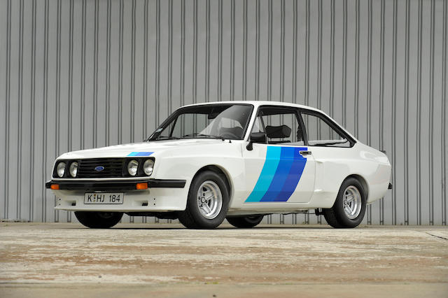 Left-hand drive, One of only two known survivors, Ex-Ford Motor Company press fleet, Circa 11,000 miles from new,1978 Ford Escort RS2000 Series X Sports Saloon  Chassis no. GCATUU72025