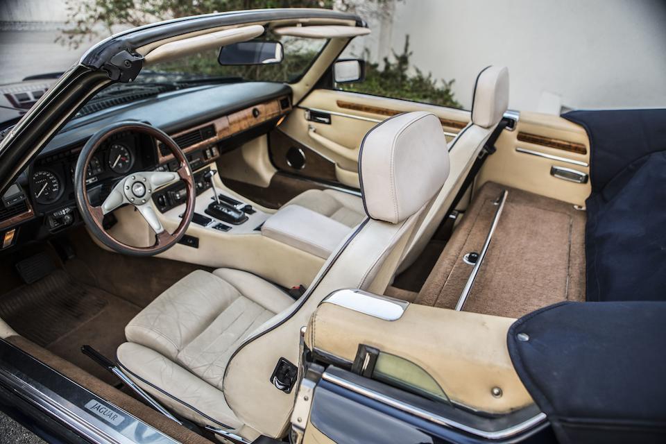 1988 Jaguar XJ-S V12 Convertible Chassis no. SAJJNADW4DP149381 Engine no. 176624115