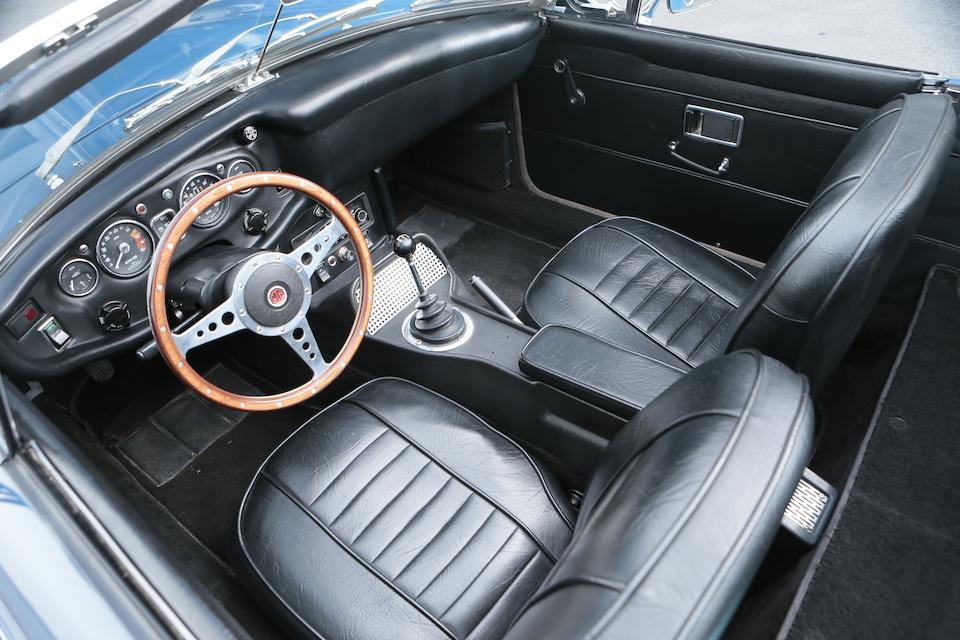 1969 MGB Roadster Chassis no. GHN4U185005G