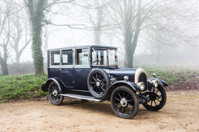 1925 Bean Model 4 12hp Saloon with Division  Chassis no. 22044 Engine no. 012184