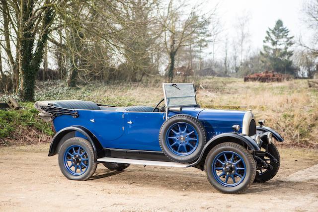 1926 Bean Model 4 12hp Tourer  Chassis no. 302044 Engine no. 30544