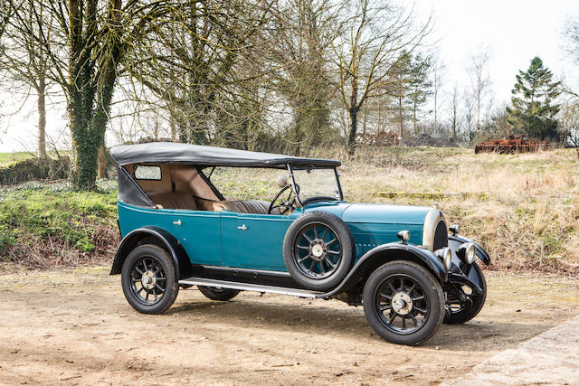 1927 Bean Model 6 Short 14 Faux Cabriolet  Chassis no. 47264 Engine no. 60203
