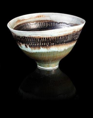 Dame Lucie Rie (Austrian, 1902-1995) A Bowl, 1956