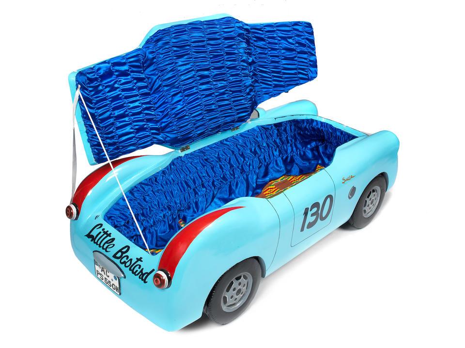 Paa Joe (Ghanaian, born 1945) 'Porsche 55' (James Dean car) 115 x 167 x 33cm (45 1/4 x 65 3/4 x 13in). (when open)