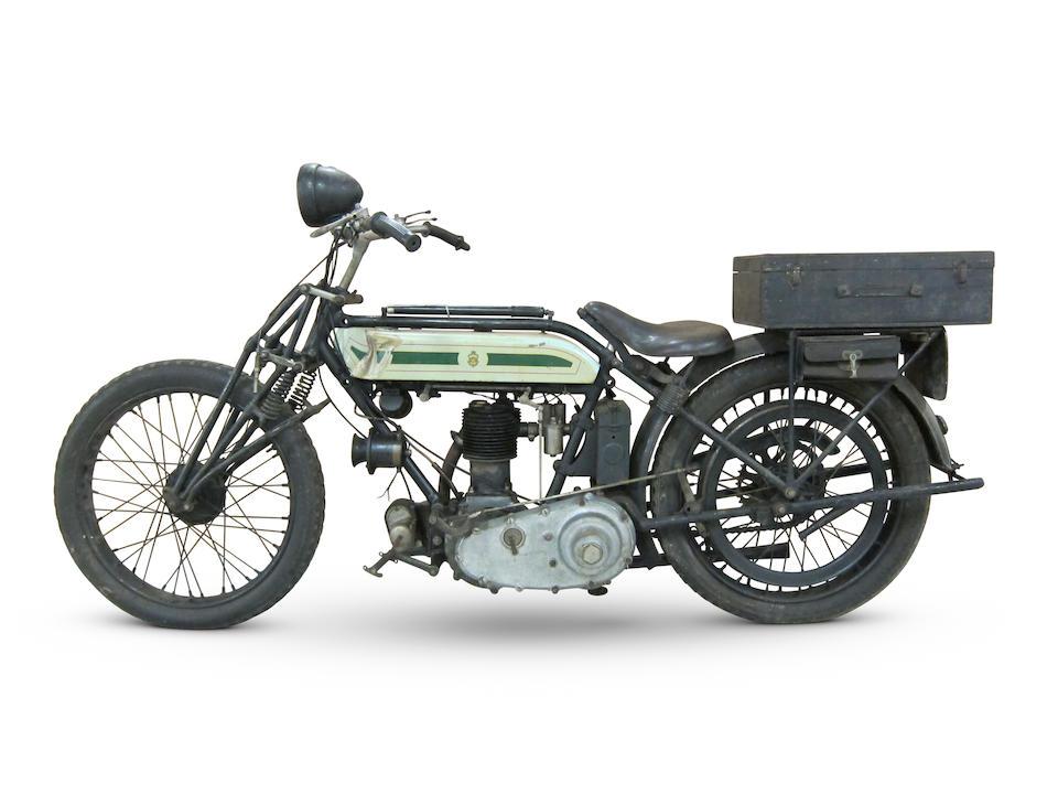 Property of a deceased's estate,1924 Triumph 550cc SD Frame no. 33646 Engine no. 96964 GGH