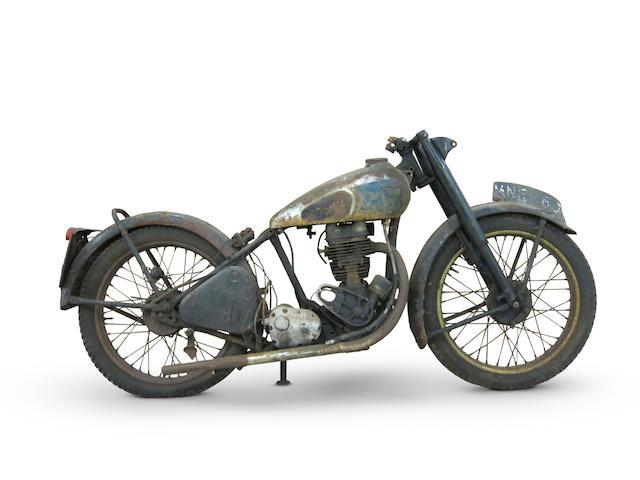 c.1952 BSA 249cc C11 Project Frame no. ZC10 29707 Engine no. ZC11 27509