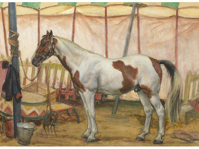 Dame Laura Knight RA, RWS (British, 1877-1970) The Circus Horse