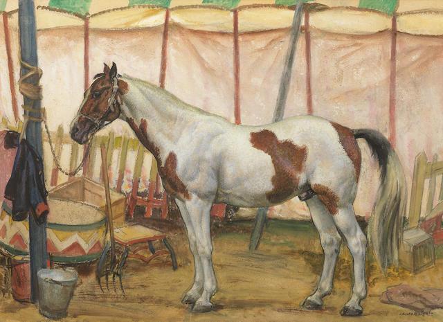 Dame Laura Knight RA, RWS (British, 1877-1970) The Circus Horse