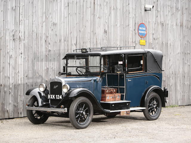 1935 Austin 12 LL type Taxi  Chassis no. 78469 Engine no. CS1136