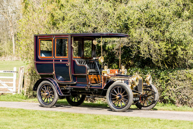 1904 Talbot CT4V-B 12/16-hp Brougham  Chassis no. 90 Engine no. 4446