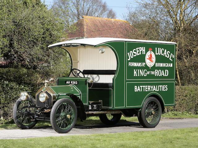 1918 Crossley 20/25-hp RFC Van  Chassis no. 721 Engine no. 14294