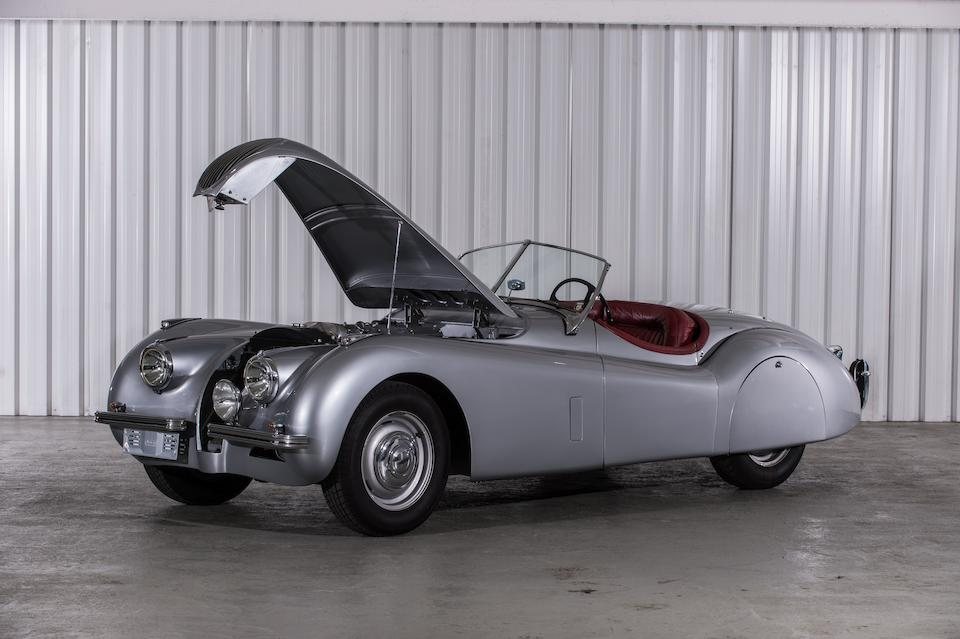 Original left hand drive, matching numbers,1951 Jaguar XK120 Roadster Chassis no. 671452 Engine no. W3291-8