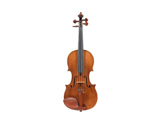 An Italian Violin probably by Hieronymus Amati, Cremona, circa 1700 (1)
