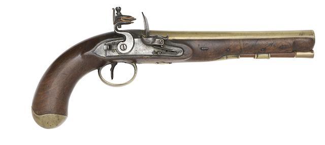 A Rare 22-Bore Flintlock Mail Coach Pistol