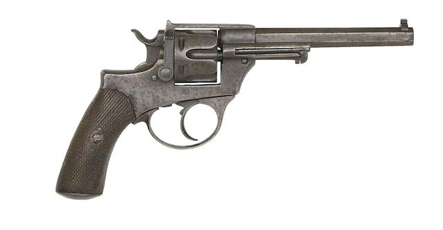 An Italian 10.4MM Centre-Fire Glisenti 1888 Model Six-Shot Military Revolver
