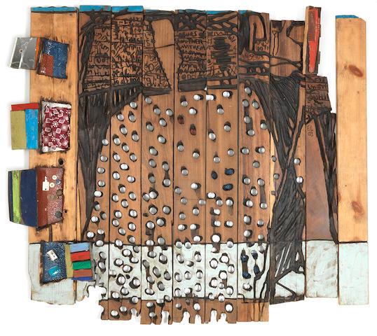 El Anatsui (Ghanaian, born 1944) 'OgaI'