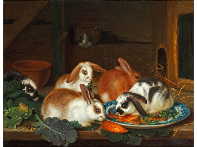 Horatio Henry Couldery (British, 1832-1893) 'A Study from Nature'