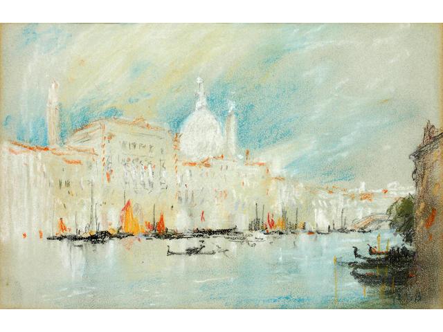 Hercules Brabazon Brabazon (British, 1821-1906) Grand Canal, Venice