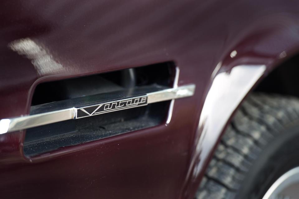 Left-hand drive,1984 Aston Martin V8 Vantage Sports Saloon  Chassis no. SCFCV81VXFTL12455 Engine no. V580/2455V