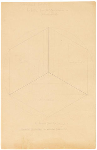 Paul Klee (Swiss, 1879-1940) Bildnerische Gestaltungslehre: III.24 Stereometrische Gestaltung