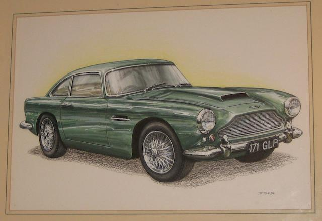 David Purvis (British), 'Aston Martin DB4',