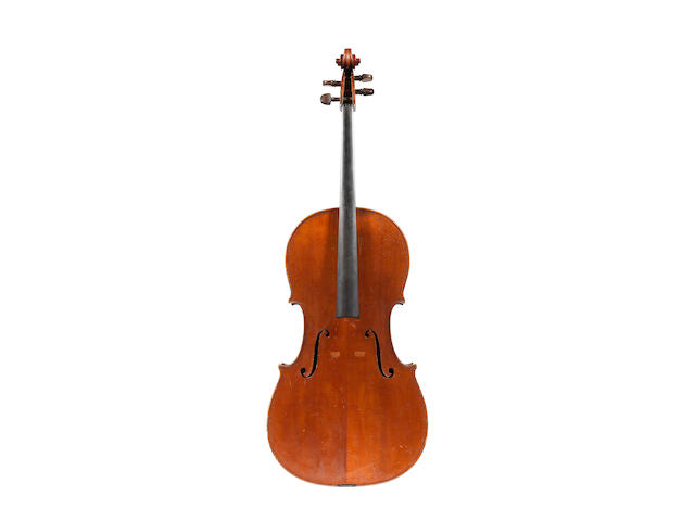 An Italian Cello by Georg Ullman, Turin, 1917 (2)