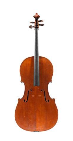 An Italian Cello by Georg Ullman, Turin, 1917 (2)
