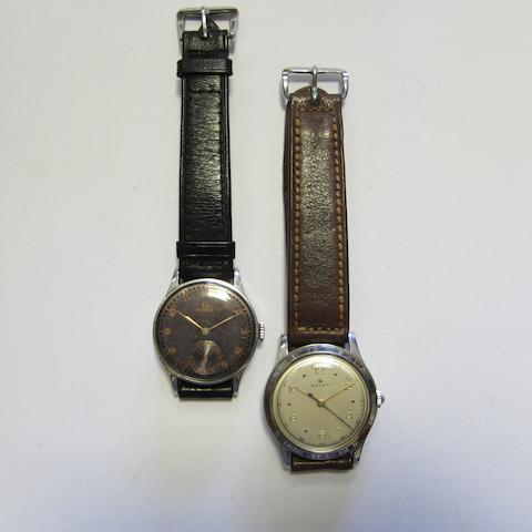 A lot of two wristwatches (AF)