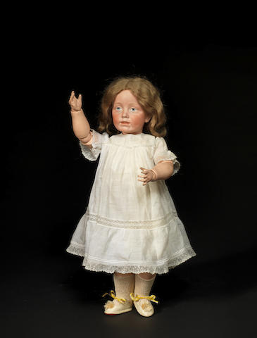A rare and exceptional Kämmer & Reinhardt 105 bisque head character doll