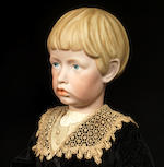 A very rare Kämmer & Reinhardt 102 bisque head character doll