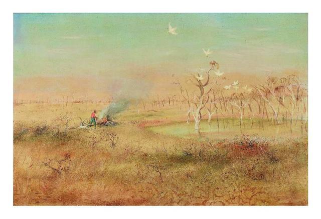 Arthur Boyd (1920-1999) Wimmera Landscape, c.1950