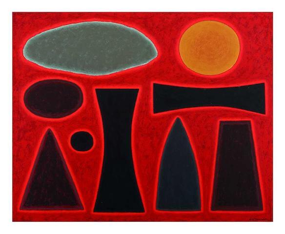 John Coburn (1925-2006) Maralinga II, 1999