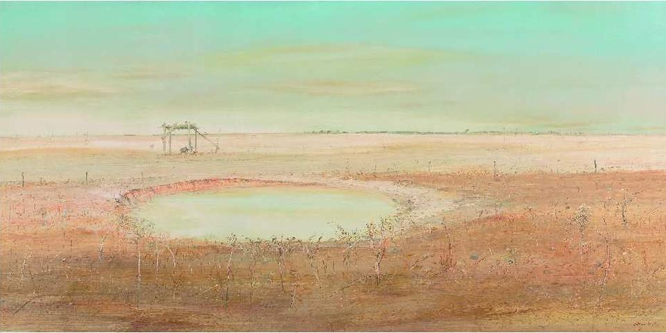 Arthur Boyd (1920-1999) Wimmera Landscape