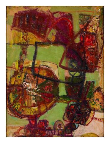 John Olsen (born 1928) Landscape, c.1958