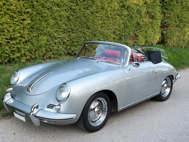 1961 Porsche 356 B (T5) 1600 Super Cabriolet Chassis no. 155 409 Engine no. 85 105