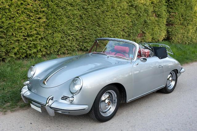 1961 Porsche 356B T5 1600 Super Cabriolet Chassis no. 155409 Engine no. 85105