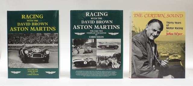 Chris Nixon: Racing with the David Brown Aston Martins; Volumes 1 and 2,