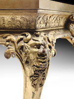 A George II carved giltwood and cut gesso centre table attributed to James Moore