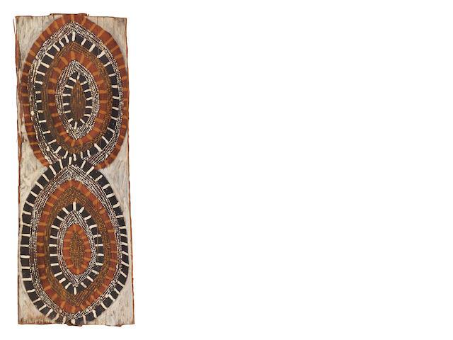 Deaf Tommy Mungatopi (circa 1925-1985) Coral Designs, c.1965