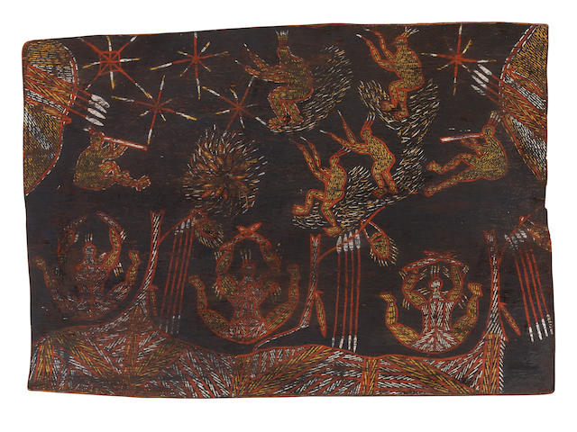Thomas Nandjiwarra Amagula (circa 1926-1989) Untitled (Ceremony), c.1953