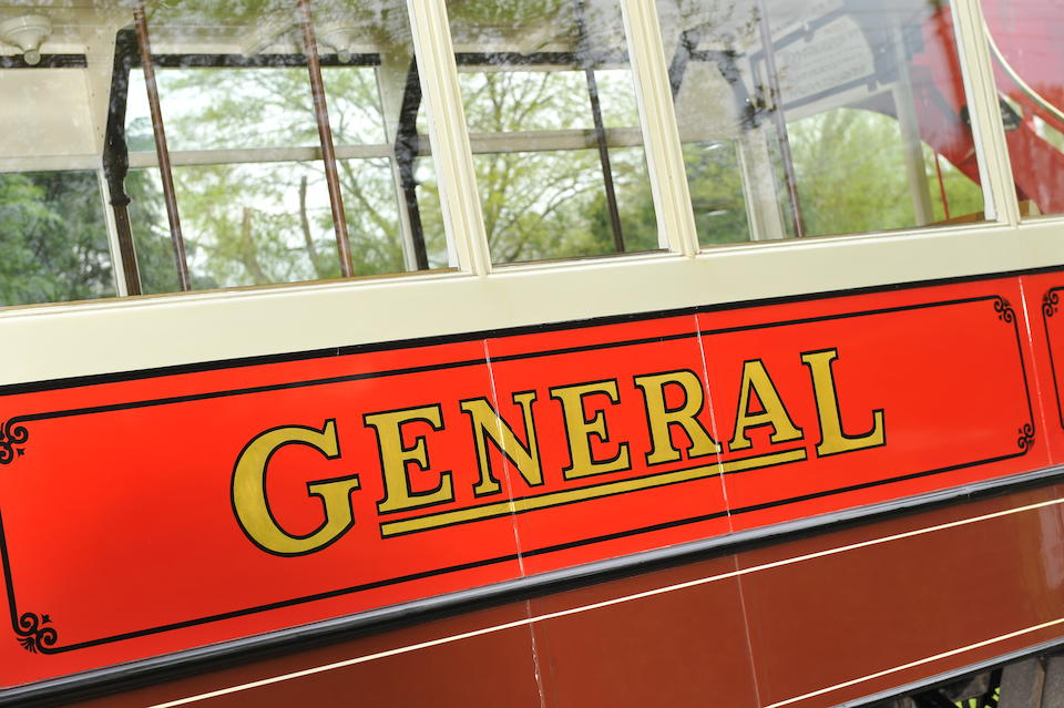 Formerly operated by London General Omnibus Company,1922 AEC S-Type open-top double-deck bus  Chassis no. 21708 Engine no. B2664