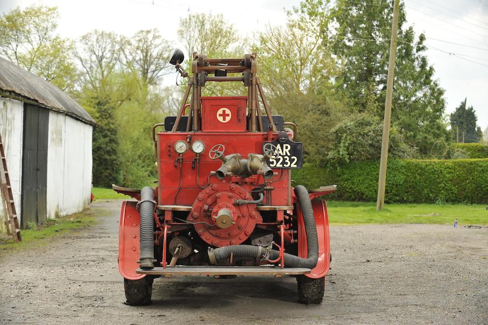 1914 Dennis Fire Engine  Chassis no. 1240 Engine no. 7188