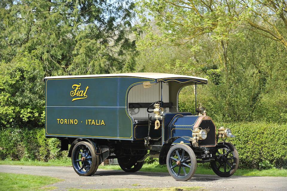 1915 Fiat  18P Box Van   Chassis no. 68798 Engine no. 3967