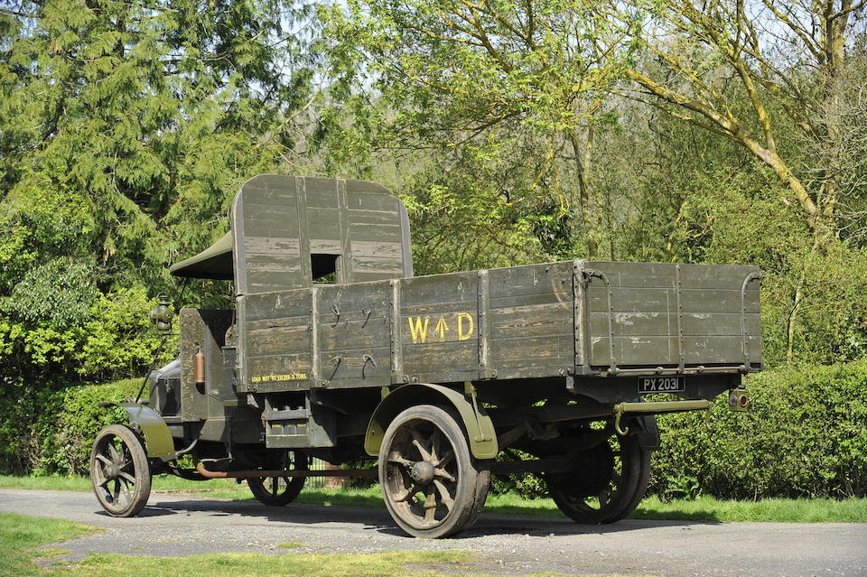 1914 Hallford WD Lorry   Chassis no. 4061 Engine no. 901