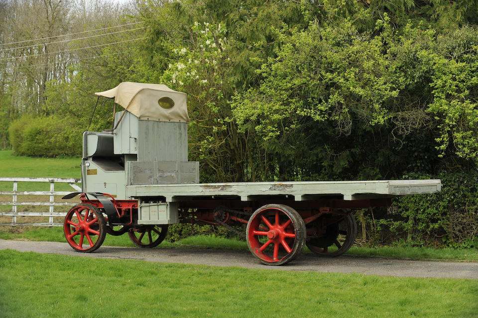 1910 Karrier A6 Flatbed Lorry   Chassis no. 205 Engine no. 1189