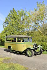 1929 Chevrolet LQ International 14-Seater Coach  Chassis no. LQ55772 Engine no. RT683738